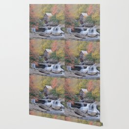 Almost Heaven Grist Mill Wallpaper