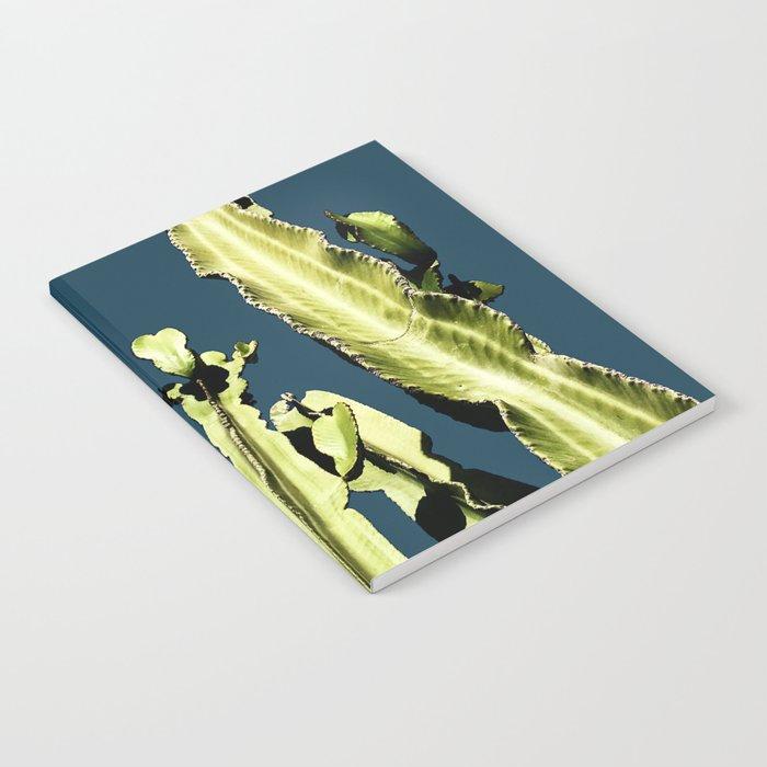 Cactus - blue Notebook