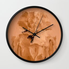 Egypt - Pharaoh Wall Clock