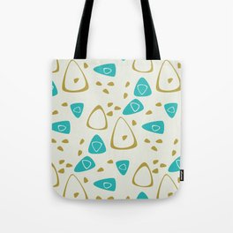 Mid-Century Abstract Tote Bag