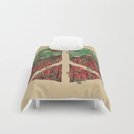 Peaceful Landscape Comforters