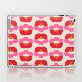 Flowers geometry - retro pattern no2 Laptop & iPad Skin