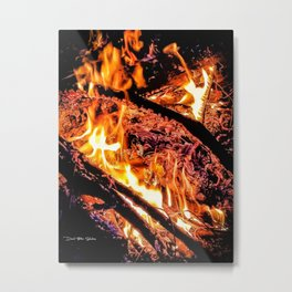 Birth Place Of The Phoenix Metal Print