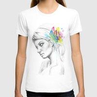 butterflies T-shirts featuring Butterflies by Olechka