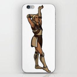 Strong female pose - Zevran iPhone Skin