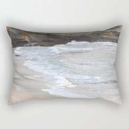 TWILIGHT ON THE OCEAN WAVES IN THE COVE Rectangular Pillow