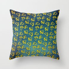 Unacorni and Cheese Throw Pillow