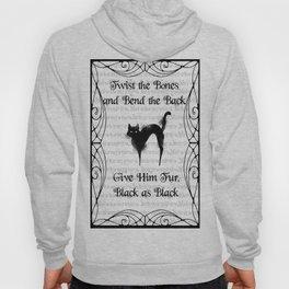 Black Cat Spell Hoody