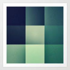 :: geometric maze XI :: Art Print