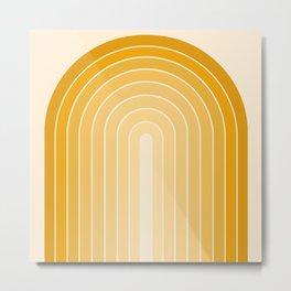 Gradient Arch XXV Metal Print
