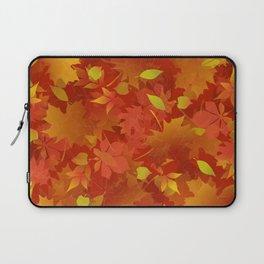 Autumn Leaves Carpet Laptop Sleeve