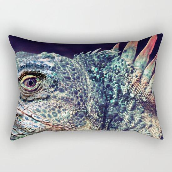 Fabulous Lizard Rectangular Pillow