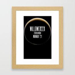 Midnight '94 Framed Art Print