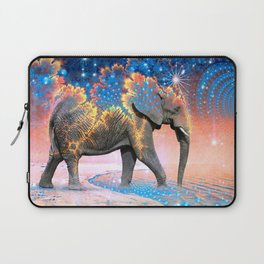 Elephant Drinking Soma Laptop Sleeve