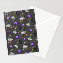 Alien Doodles  Stationery Cards