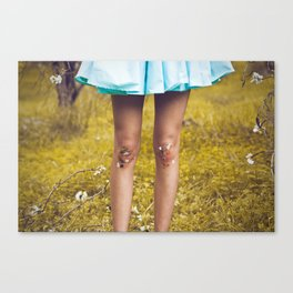 Dirty Knees Canvas Print