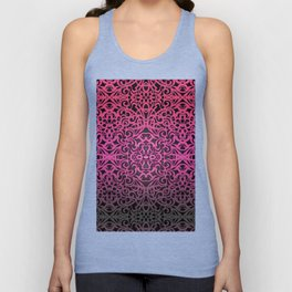 Floral abstract background G102 Unisex Tank Top