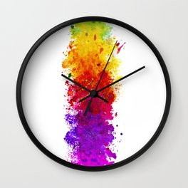 Color me blind Wall Clock