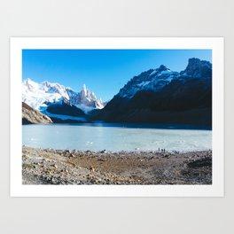 Laguna Torre, Patagonia, Argentina Art Print