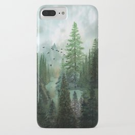 Mountain Morning 2 iPhone Case