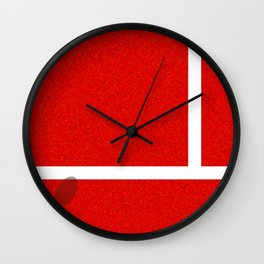 """IN"" – Hawk-Eye – Sand Wall Clock"