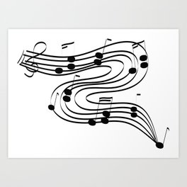 Music Dance Art Print