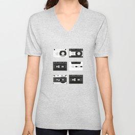 Cassette Pattern #1 Unisex V-Neck