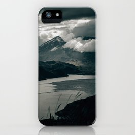 Moody Mount St. Helens iPhone Case
