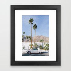 Palm Springs Mid Century Modern 2 Framed Art Print