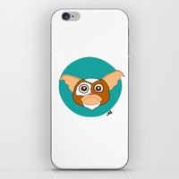 gizmo iPhone & iPod Skins featuring Gizmo by Designs By Misty Blue (Misty Lemons)