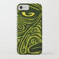 maori iPhone & iPod Cases featuring Maori style 01 by Alexis Bacci Leveille