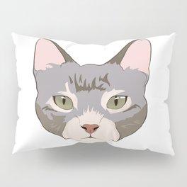 Green eyed kitty Pillow Sham