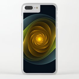 Hypnosis Clear iPhone Case