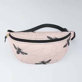 Bee Dance on Pink - Mix & Match With Simplicity of Life Fanny Pack