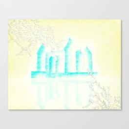 Palais d'hiver Canvas Print