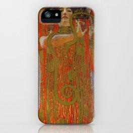 Gustav Klimt - Hygieia iPhone Case