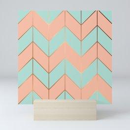 Marble Geometry 059 Mini Art Print