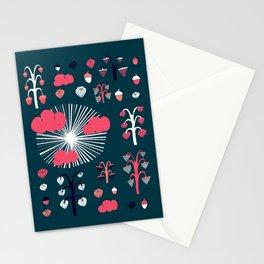 september dark Stationery Cards