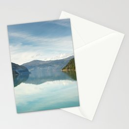 A turquoise lake in the moutains of Norway  | nature photo | fine art photo print | travel photo Stationery Cards