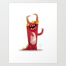 Monster 1 Art Print