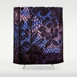 Sky and Curtains Shower Curtain