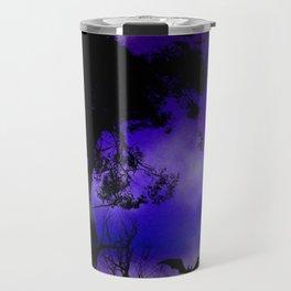 Dark Art Silhoutte - Monster Moon Travel Mug