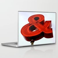 ampersand Laptop & iPad Skins featuring Ampersand by Ann Yoo