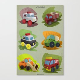 Toy Trucks!  Canvas Print