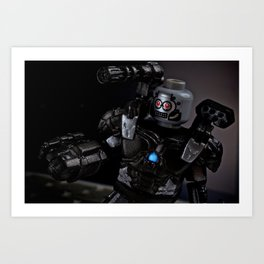 War Machine Art Print
