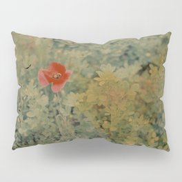 Poppy flower Pillow Sham