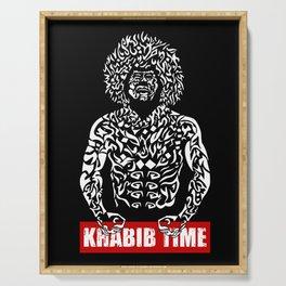 Khabib Angry Time Serving Tray