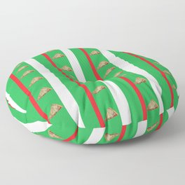 Pizza for Everyone Floor Pillow