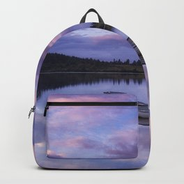 Purple Boats Backpack