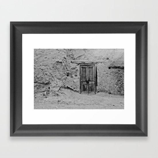 Door Leading (Nowhere?) Framed Art Print